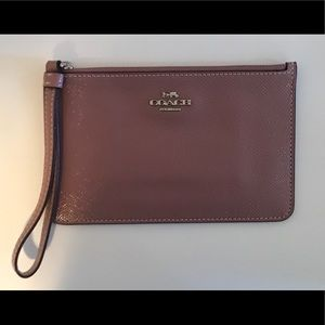 Coach Leather Wristlet BRAND NEW